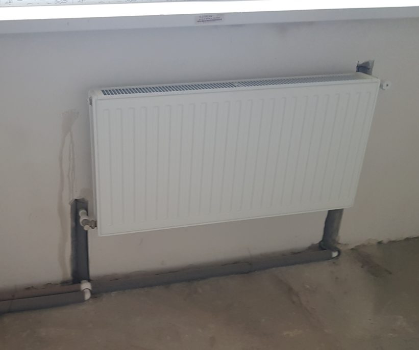 радиатор в теплый частный дом