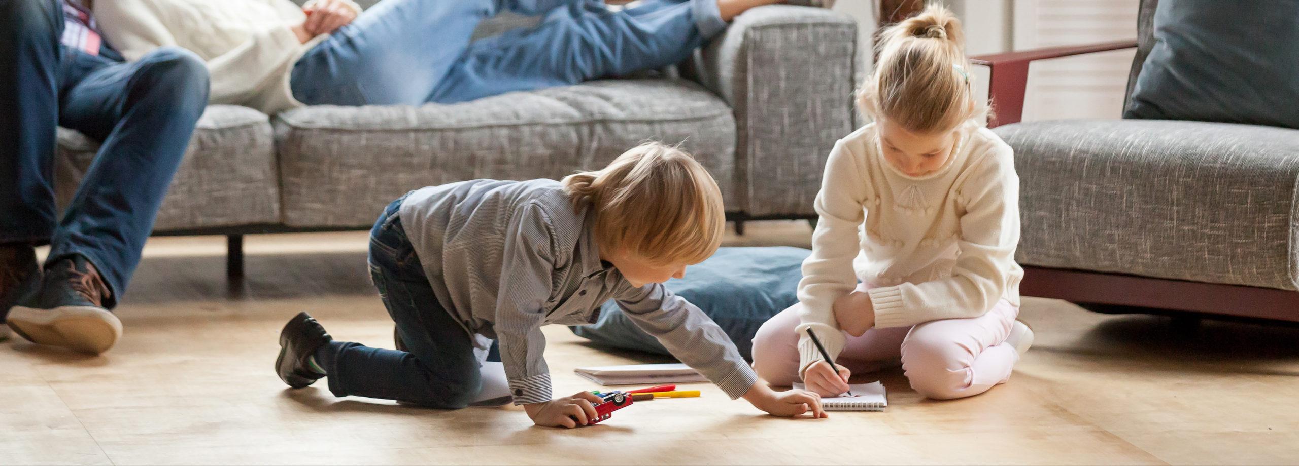 теплый частный дом с детьми